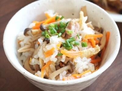 缶詰で時短料理! 焼き鳥缶の塩炊き込みご飯