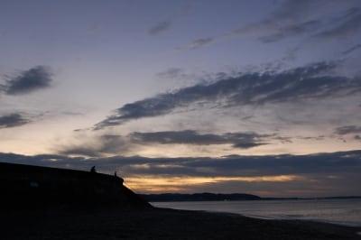 東の空undefined夜明けの訪れ