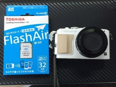 FlashAirとオリンパスPENLightE-PL6