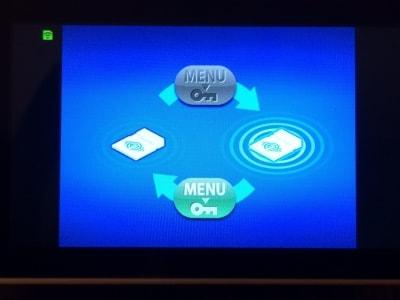 無線LAN機能をオンする方法として、FlashAir設定画面のロックのオンオフでも行うことができます
