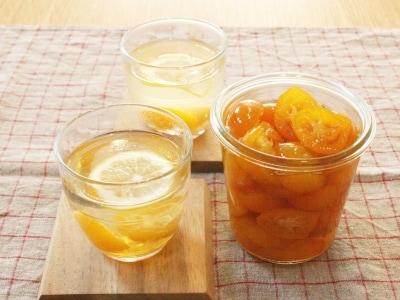 金柑の白ワイン煮と金柑と生姜のホットドリンクレシピ