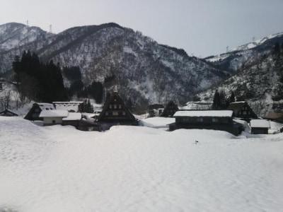 雪の五箇山・菅沼合掌集落(2)