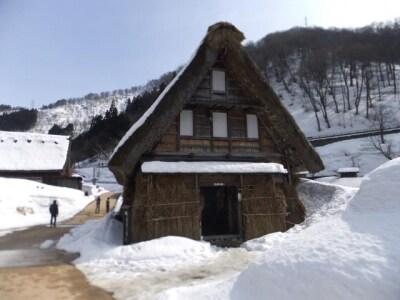 雪の五箇山・菅沼合掌集落(3)