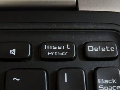InsertキーとPrintScreenキー
