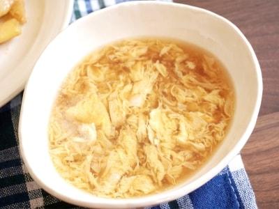 ふわふわ卵スープのレシピ!本格中華料理の味