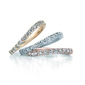 ダイヤの輝きを最大限に生かす共有爪留め。Carrelet(カルレ)(画像:GINZADIAMONDSHIRAISHI)
