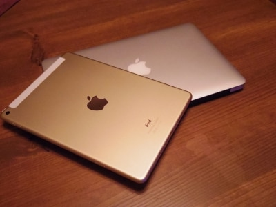 iPad Air2とMacBook Air