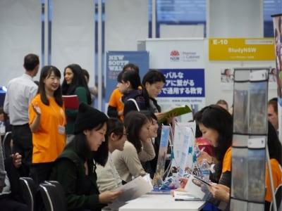 オーストラリア大使館が毎年主催する、参加費無料の「オーストラリア留学フェア」