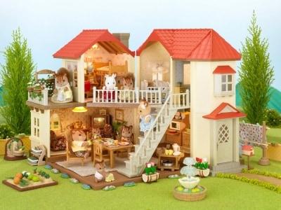 エポック社/シルバニアファミリーお家あかりの灯る大きなお家(8618円)