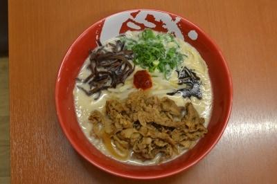【大阪】限定肉もり牛醤ラーメン(ラーメンまこと屋)