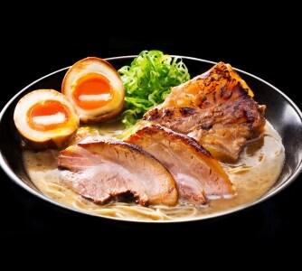 【兵庫】極濃豚骨Wチャーシュー麺味玉入(ラーメンこがね家明石総本店)