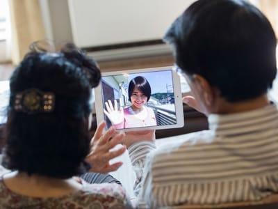 多くのデータ通信量を消費するビデオ通話も、一般的なコミュニケーション方法に