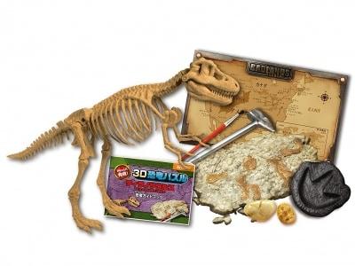 ビバリー/3D恐竜パズル化石発掘ティラノサウルス(2376円)