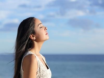 呼吸している自分に集中