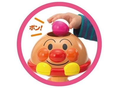 ツートンカラーのボールは転がるときに回転が見えて楽しい!