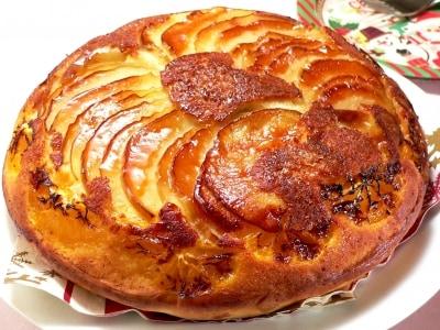 こんがり絶品! フライパンでフルーツグラッセケーキ
