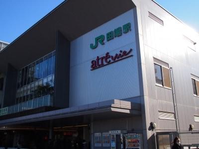 山手線、京浜東北線の駅だ