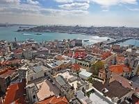 ガラタ塔から眺めたイスタンブール歴史地区