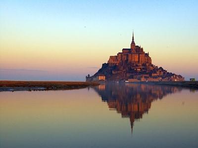 「洋上の城」モンサンミッシェル