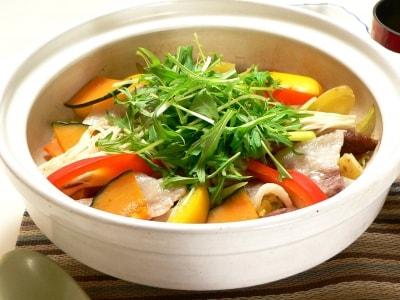 大戸屋の再現レシピ!四元豚と野菜の蒸し鍋