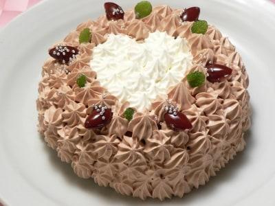炊飯器で!バレンタインチョコシフォンケーキのレシピ・作り方