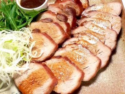 炊飯器を使った、焼き豚の作り方
