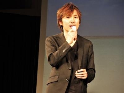 ログバー代表取締役CEOの吉田卓郎氏