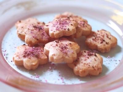 お花見にぴったり!簡単桜クッキー