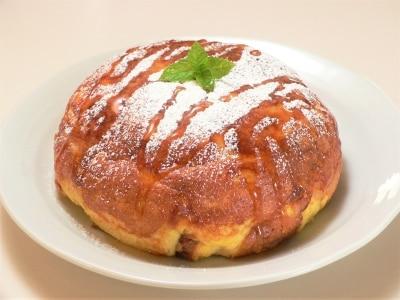 炊飯器で作る、デカ盛りフレンチトーストケーキ