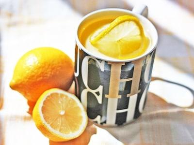 レンジで簡単!マグカップで作る、レモンミルクプリン