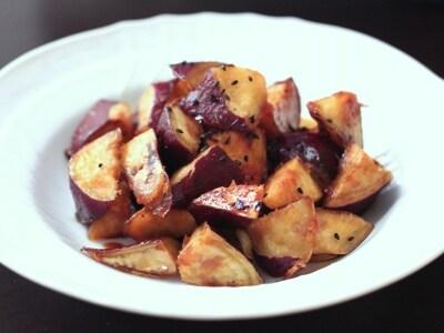 ごま油を使った、揚げないヘルシー大学芋レシピ…フライパンで簡単!