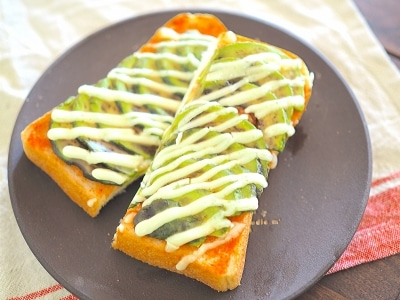きれいを作る簡単朝ごはん!明太アボカドトースト