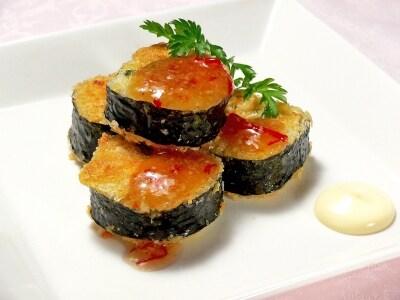 恵方巻きをアレンジ!巻き寿司のライスコロッケ