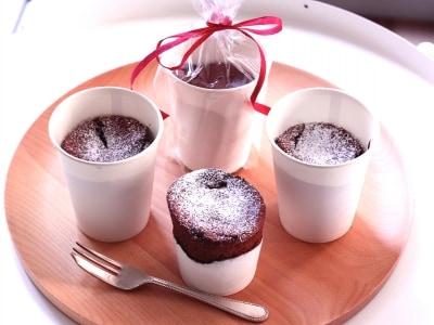 紙コップで簡単ガトーショコラの作り方・レシピ