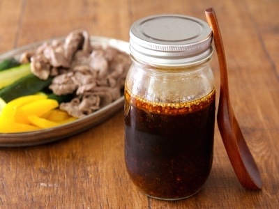 「自家製焼肉のタレ」の作り方、混ぜるだけで簡単!