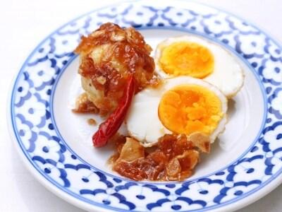 ご飯のお供に!タイ風即席煮卵の作り方