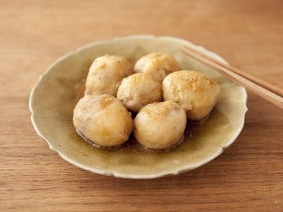 レンジで皮むき楽らく!里芋の煮物