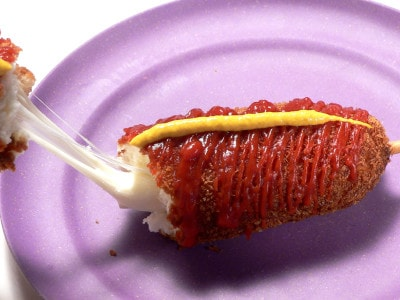 韓国式アメリカンドッグ ハットグの作り方