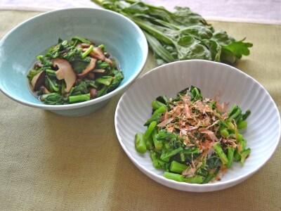 シンプルを極める!春菊のお浸しレシピ