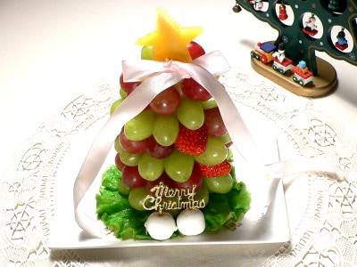 フルーツツリーケーキの作り方!インパクト絶大レシピ