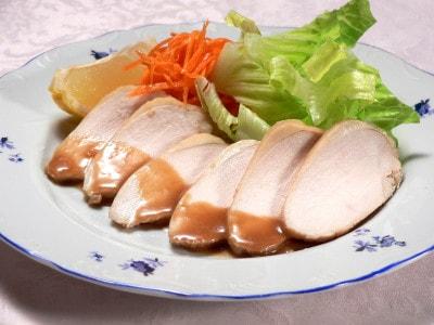 ポン酢+αで、ふっくらやわらか鶏チャーシュー