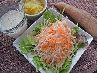 ヤーコンの食べ方・下ごしらえレシピ・保存方法・栄養情報