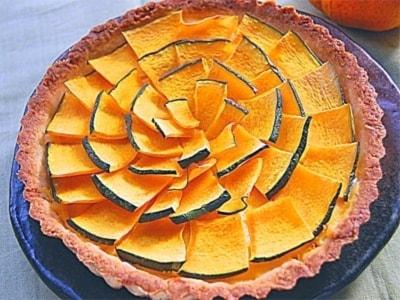 かぼちゃのなめらかクリームタルト