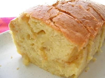 シナモンが香るリンゴのパウンドケーキ