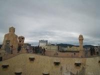 カサミラ、屋上