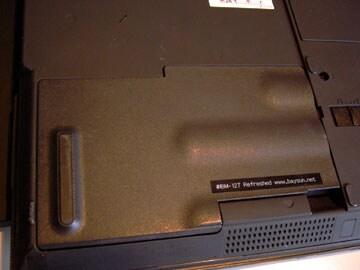 ThinkPad T23裏面