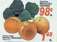 野菜や果物もポンドで量り売り