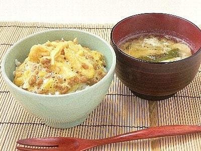 簡単朝定食 ササミの納豆和えまんま定食