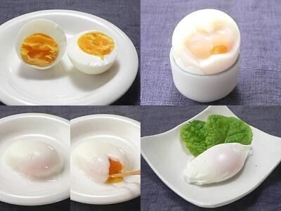 ゆで卵の経済的な作り方