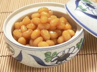 大豆の煮豆・ぶどう豆の作り方・レシピ